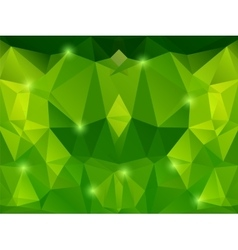 Abstract green backgraund vector