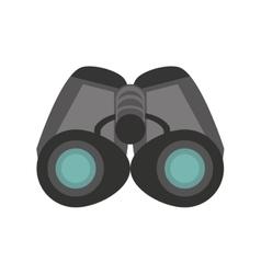 Binoculars explorer spyglass observation vector
