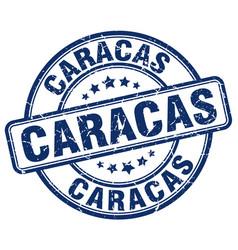 Caracas stamp vector