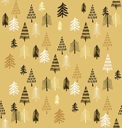Christmas pattern110 vector image vector image