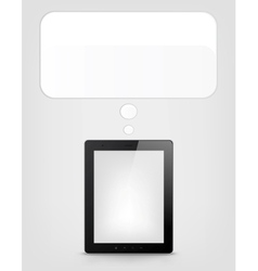Digital Tablet Concept vector image