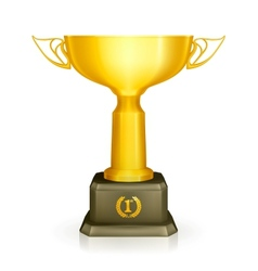 Racing trophy vector