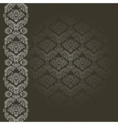 black and gray background vector image