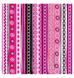 color striped background vector image