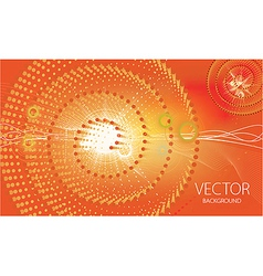 Abstract sunny background vector
