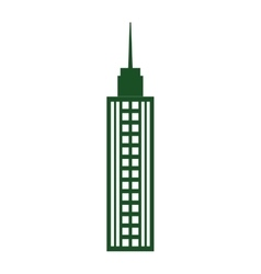 Tower icon building design graphic vector