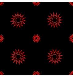 Stars geometric seamless pattern 108 vector image