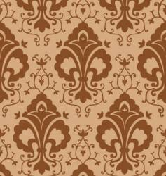 vintage chocolate pattern vector image