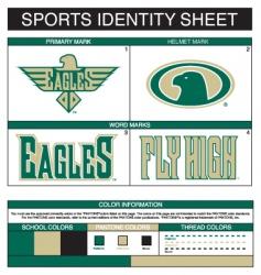 sports identity vector image