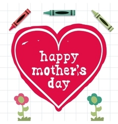 Mothers day design vector
