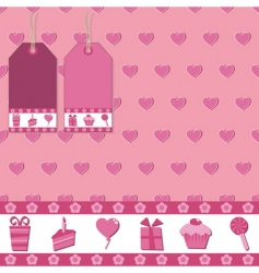 gift wrap vector image vector image