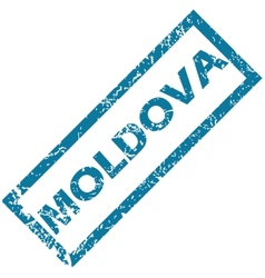 Moldova rubber stamp vector image