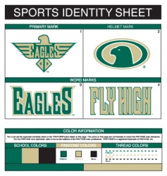 sports identity vector image