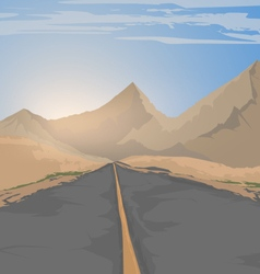 The road vector