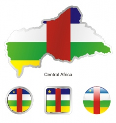 central Africa vector image