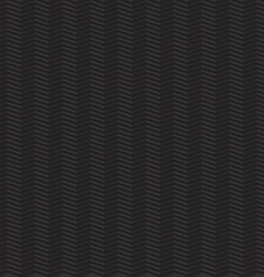 Dark seamless geometric pattern with zigzags vector image