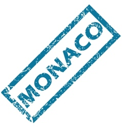 Monaco rubber stamp vector
