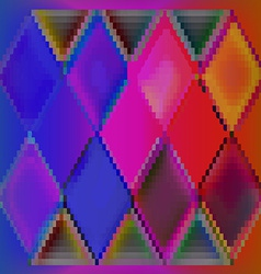 Background abstract colorful cubes vector