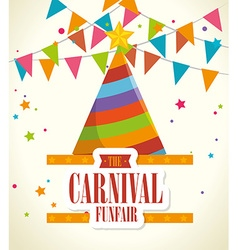 Circus carnival entertainment vector