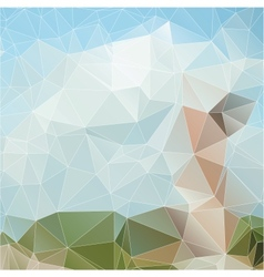 Abstract Triangles vector image