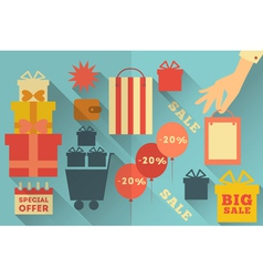 Sale Icons Collection vector image