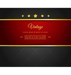Dark design template vector image