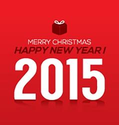 2015 new year card vector
