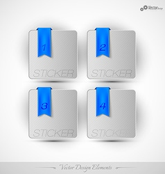 Business stickers on the white background for vector image