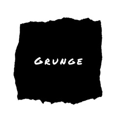 Hand drawn grunge lacerated background vector