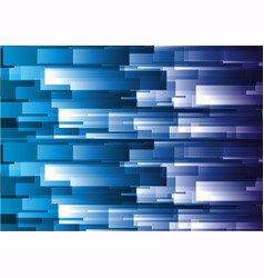 Abstract blue geometric square background vector