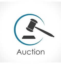 auction vector image vector image