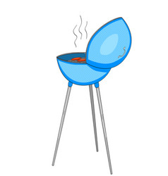 Barbecue or barbeque informally bbq or barby vector