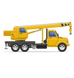 Cargo truck 22 vector