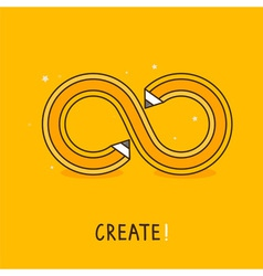 create concept vector image vector image
