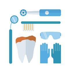 dentist stomatology equipment vector image