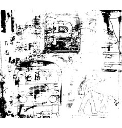 destroy texture 4 vector image vector image