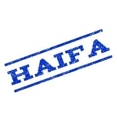 Haifa watermark stamp vector