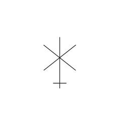 juno line icon vector image