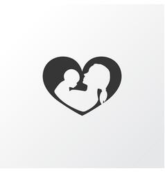 Nanny icon symbol premium quality isolated infant vector