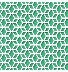 Simple hex pattern with realistic shadow for your vector
