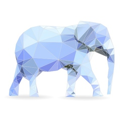 Big data elephant vector