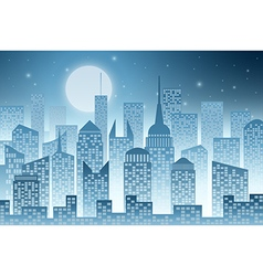 Cityscape with skyscraper vector