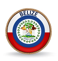 Belize seal vector