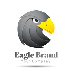 Eagle logo template business icon vector