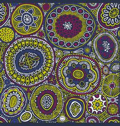 seamless pattern seamless botanic texture vector image vector image