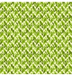 simple geometric abstract leaves seamless pattern vector image vector image