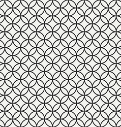 Seamless geometric abstract pattern background vector