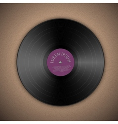 Vinyl music record vector