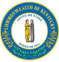 Commonwealth of kentucky vector