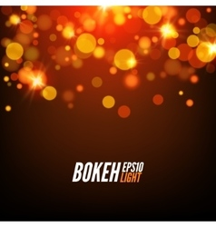 Festive colorful bokeh background lights abstract vector